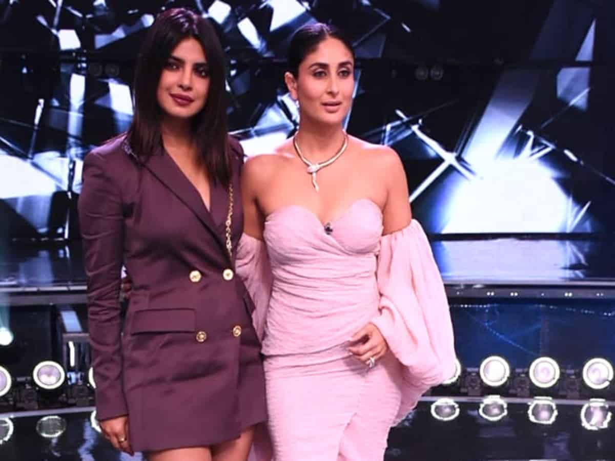 Kareena Kapoor shines 'bright' on Times Square Billboard; Priyanka reacts
