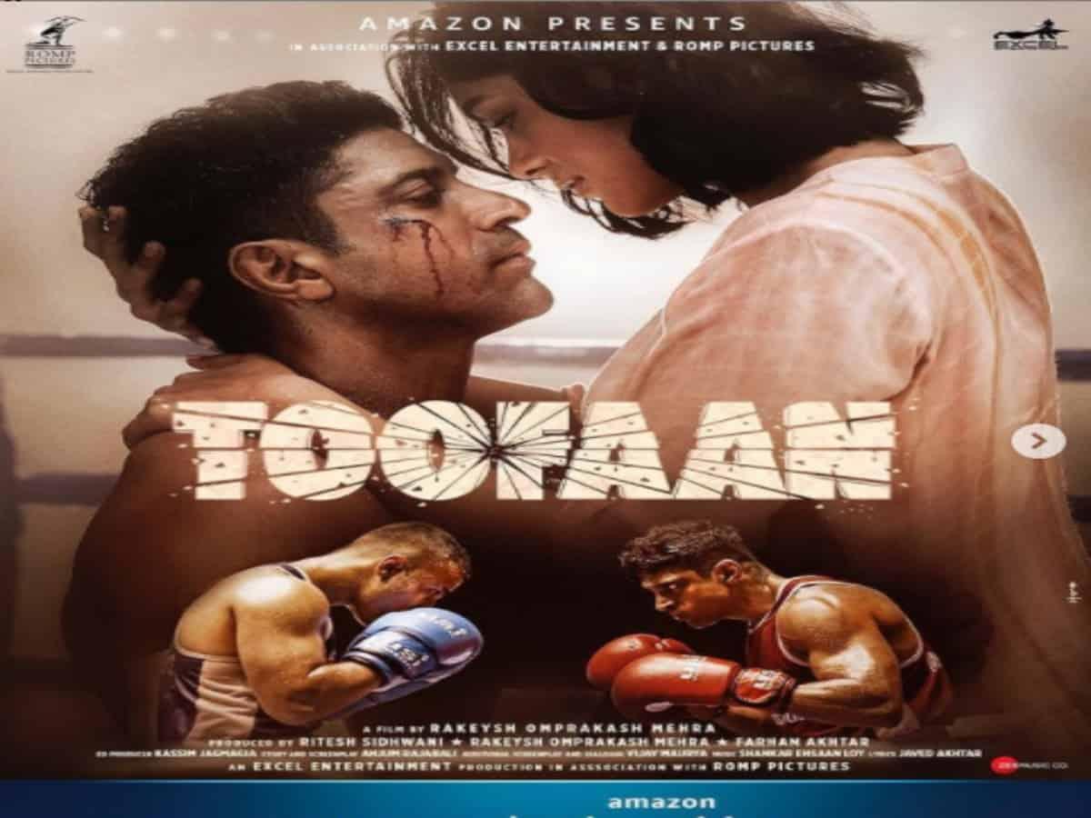 Trailer of Farhan Akhtar, Mrunal Thakur-starrer 'Toofan' to release on June 30