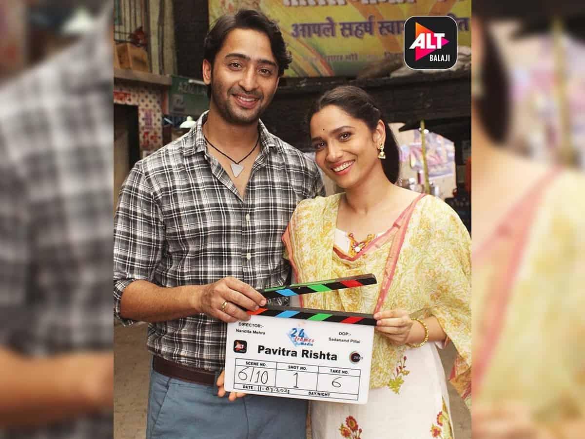 Ankita Lokhande, Shaheer Sheikh begin shooting for 'Pavitra Rishta 2'