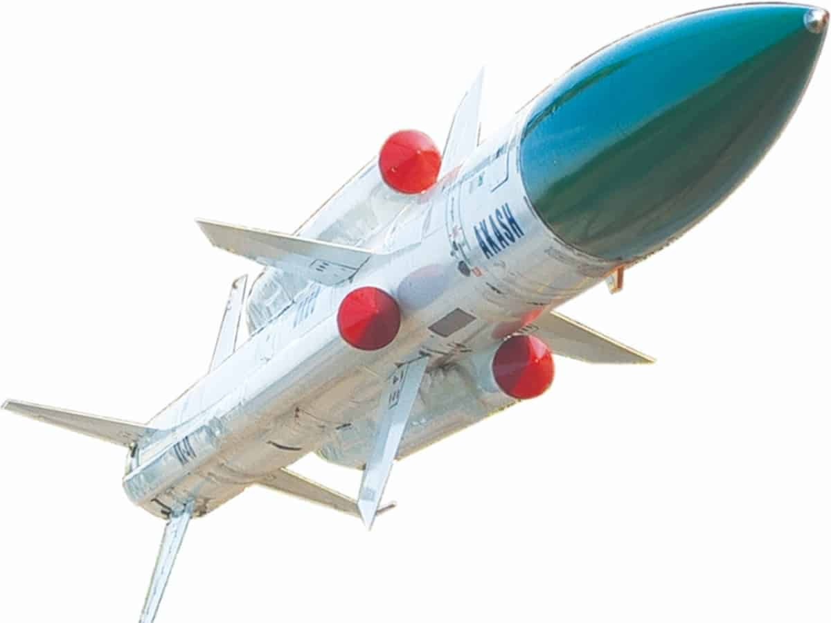 BDL signs contract to supply Akash missiles to IAF