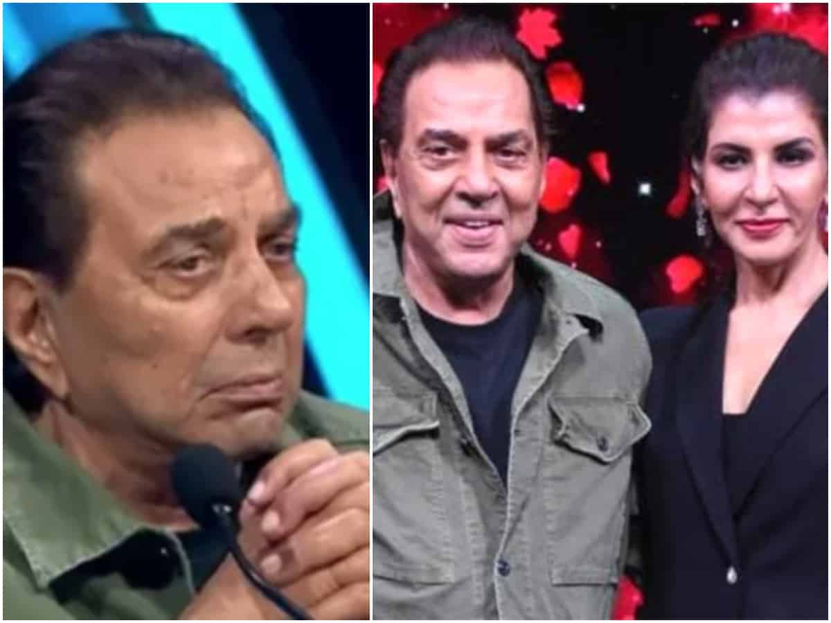 Indian Idol 12: Dharmendra gets emotional listening to 'Honthon Se Chhulo Tum' (video)