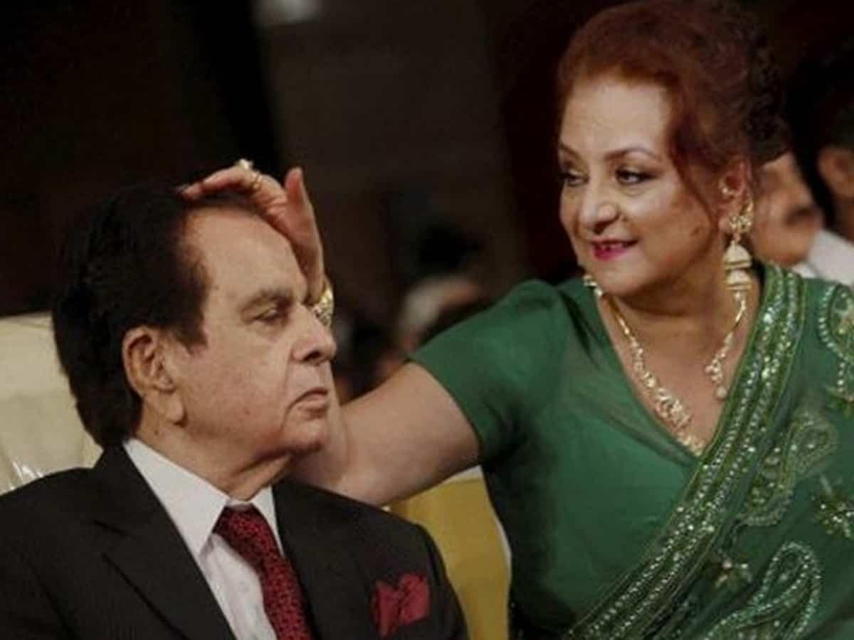 Dilip Kumar's health is stable, still in ICU, says wife Saira Banu