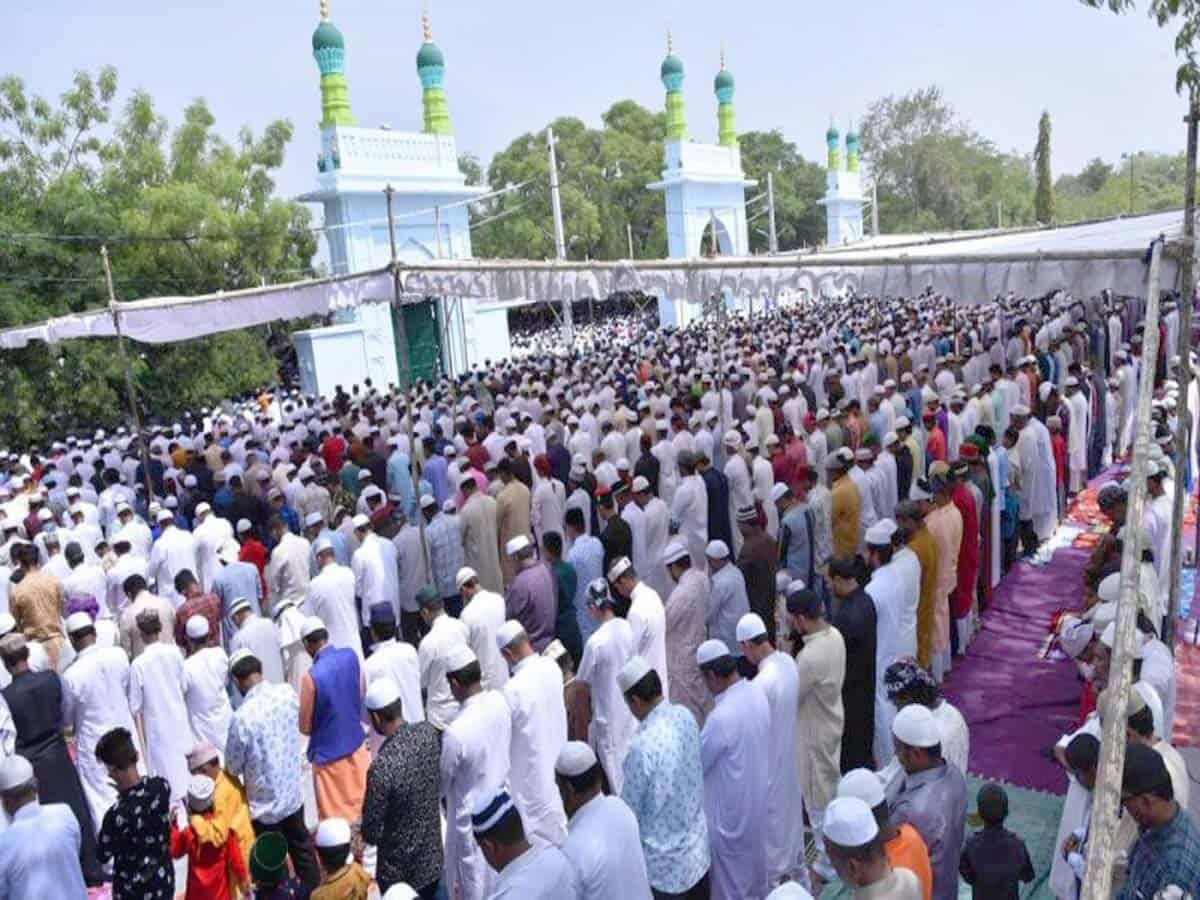 Hyderabad: Traffic restrictions for Eid-ul-Adha prayers