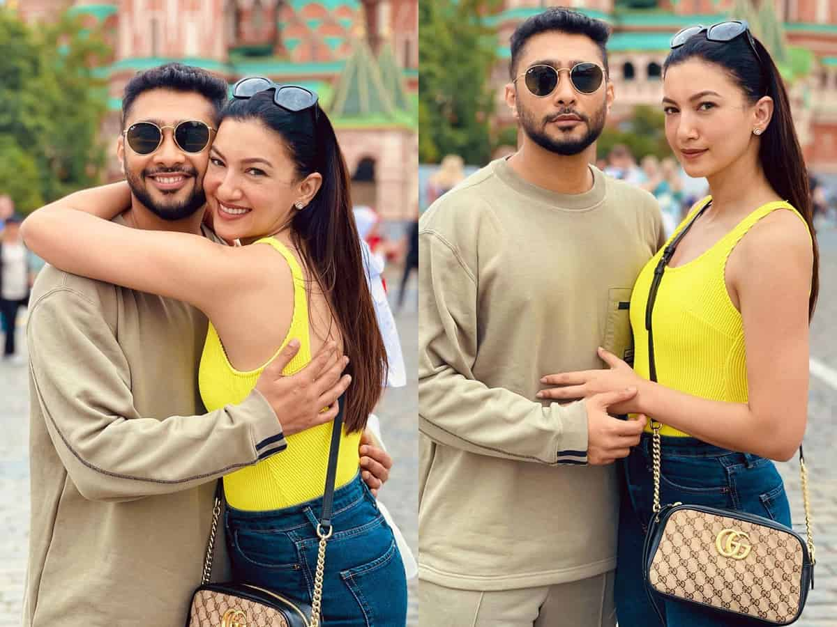 Gauahar Khan shares honeymoon pics from Russia