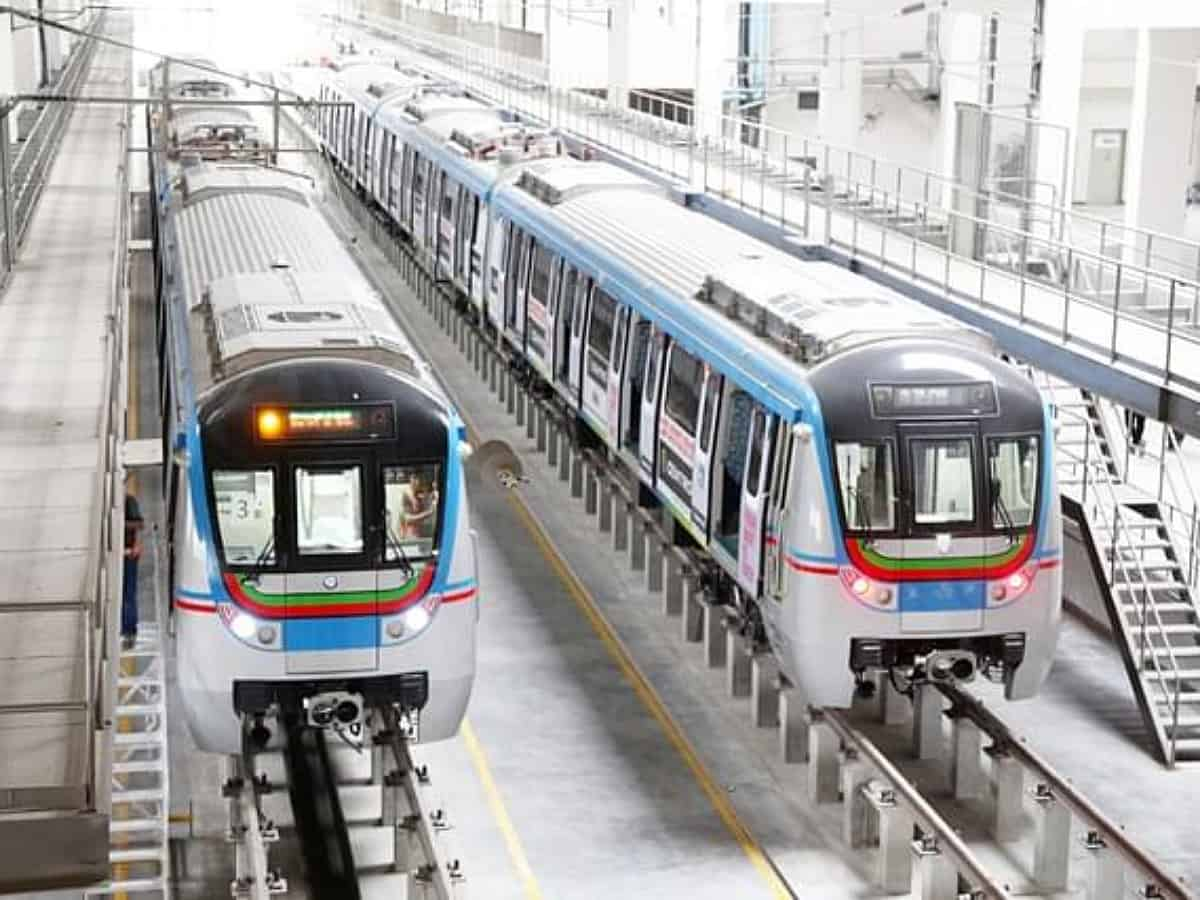 Metro rail to operate from 7 am to 10:45 pm starting July 2