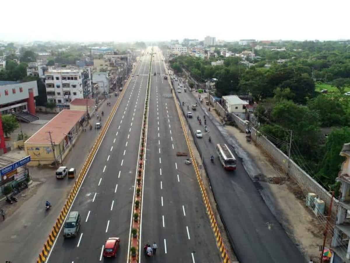 Hyderabad's Balanagar flyover to open for public use from today