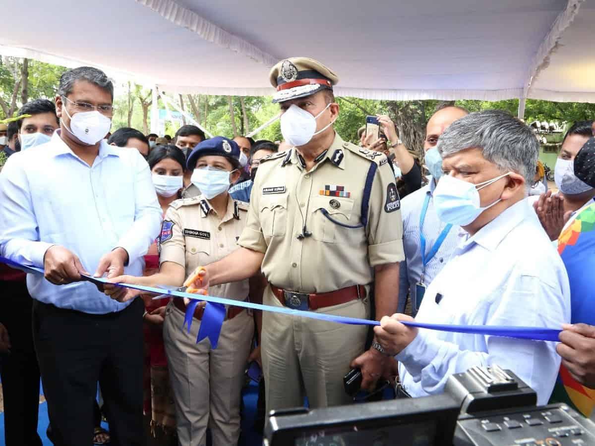 Hyderabad: Anjani Kumar inaugurates city police hospital at Amberpet