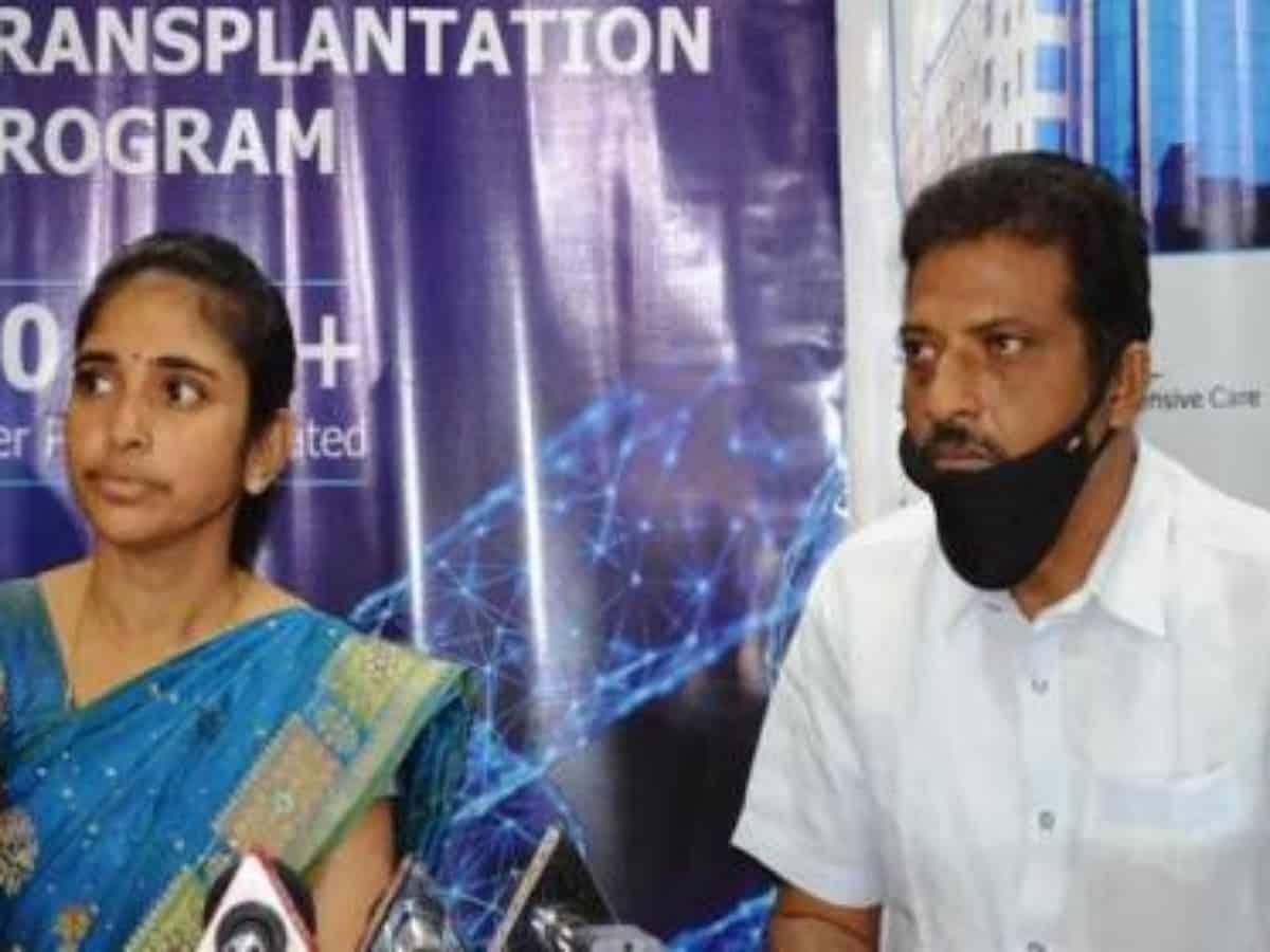 Hyderabad: Muslim woman donates liver to save her Hindu husband