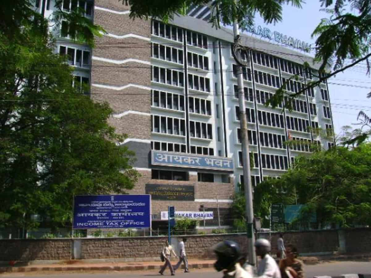 IT dept conducts searches at company based in Hyderabad; seizes documents