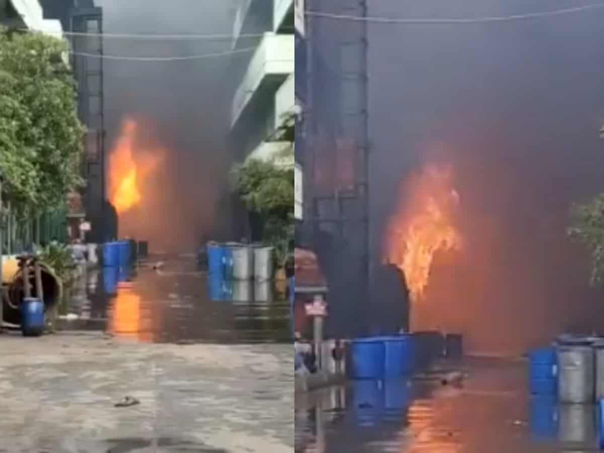 Fire breaks out at chemical lab in Jeedimetla; 3 injured, 1 missing