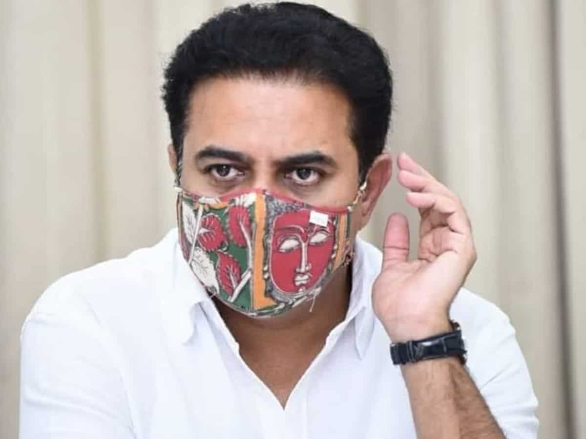 Skyways projects in Hyderabad hit by Centre's non-cooperation: KTR