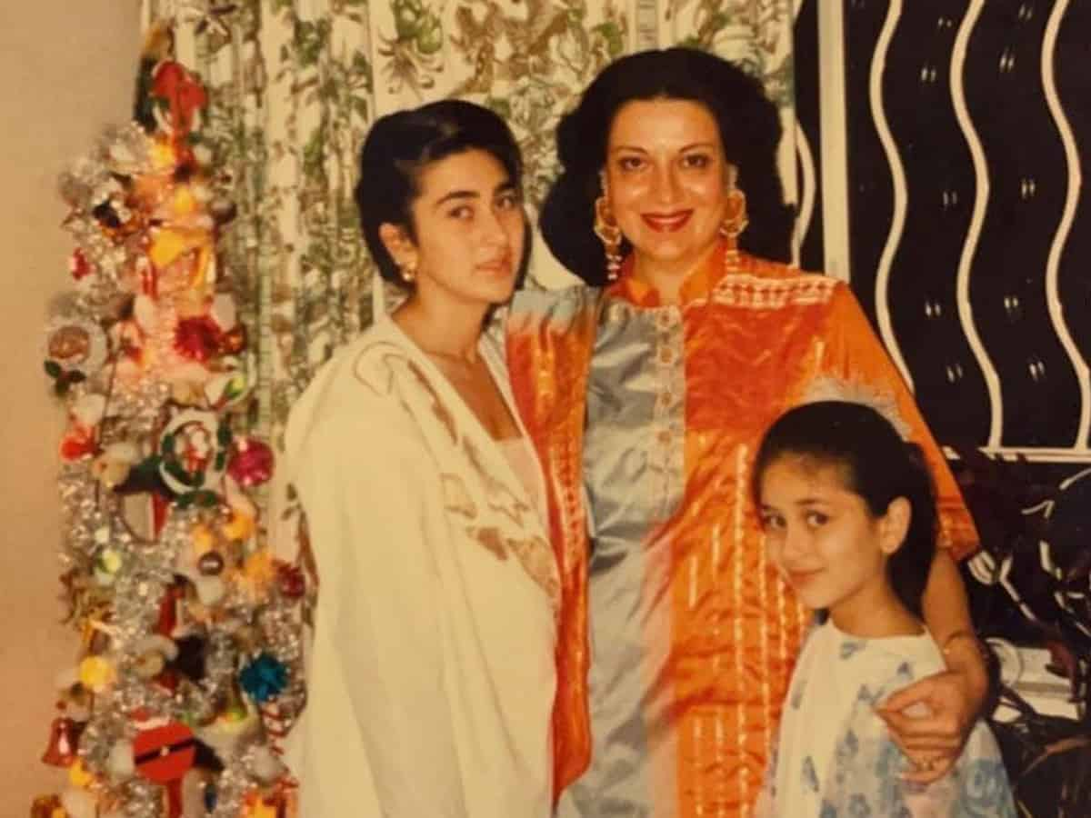 Kareena Kapoor Khan shares priceless throwback picture with Karisma, mother Babita