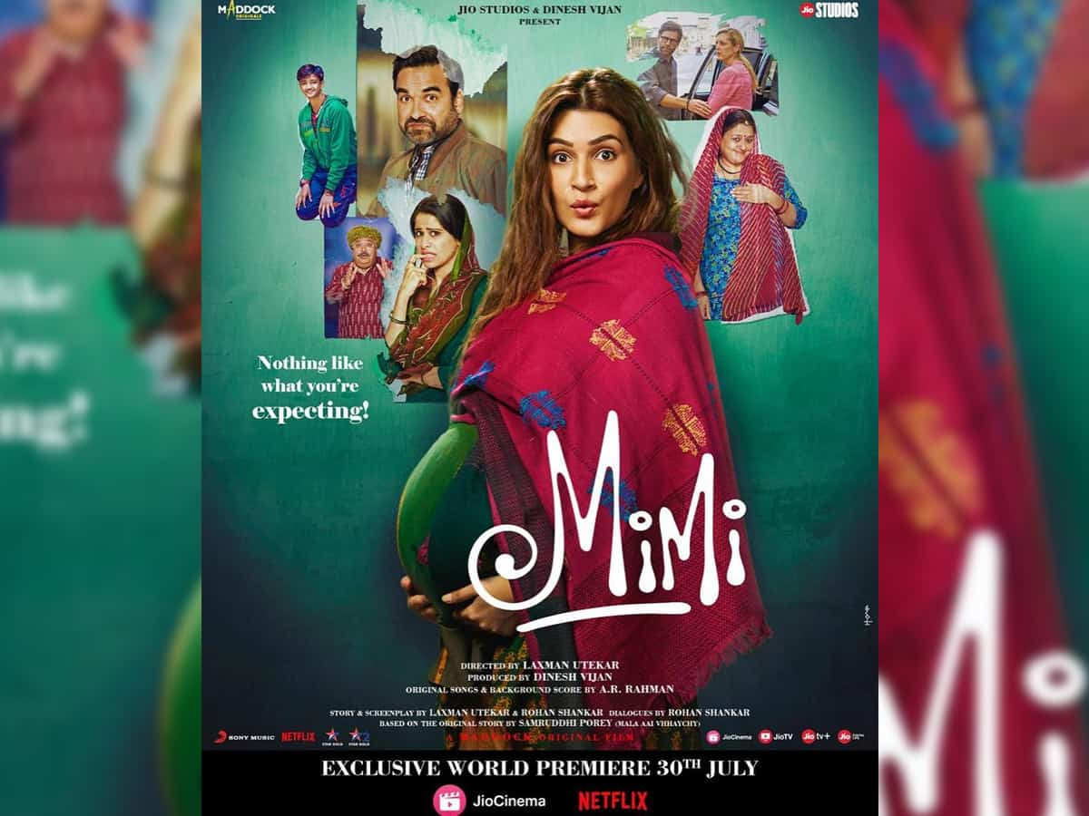 Kriti Sanon opens up about weight gain in 'Mimi'