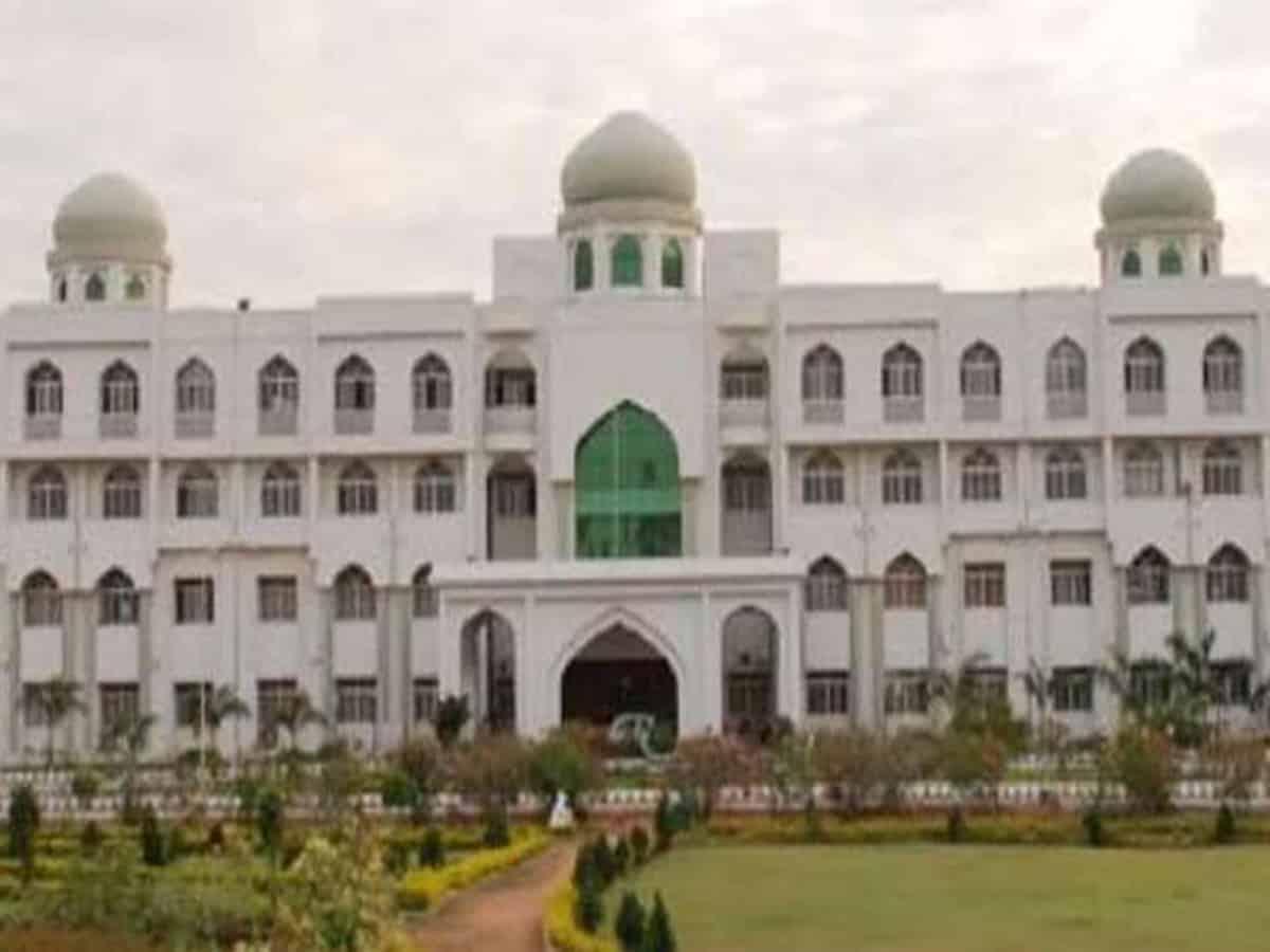MANUU offers admissions in professional courses in Urdu medium