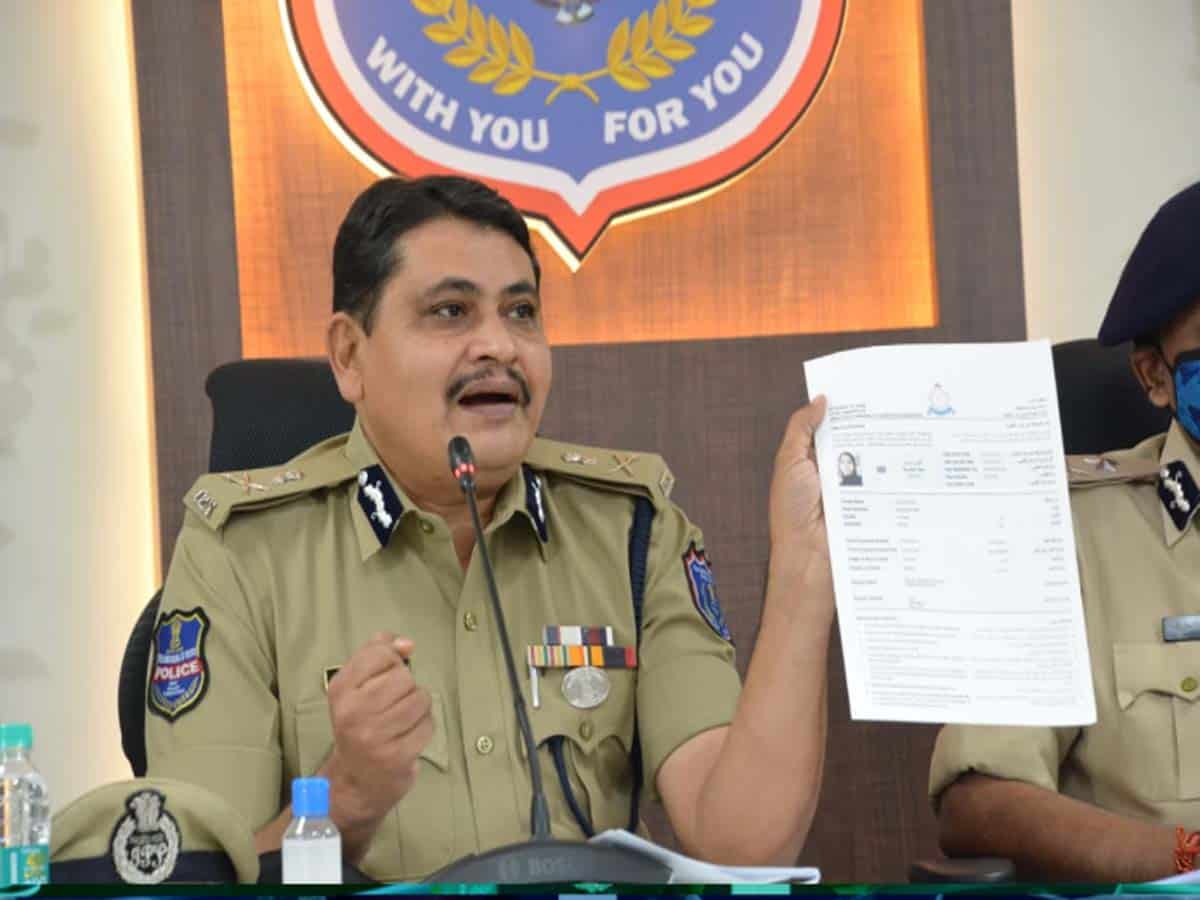 Rachakonda CP suspends Pahadishareef Inspector,SI for misconduct