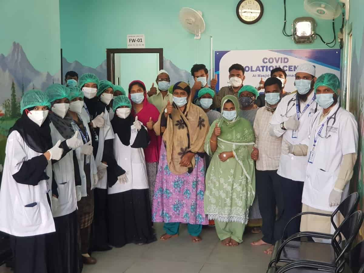 Hyderabad mosque-turned isolation centre to now treat post-COVID for free