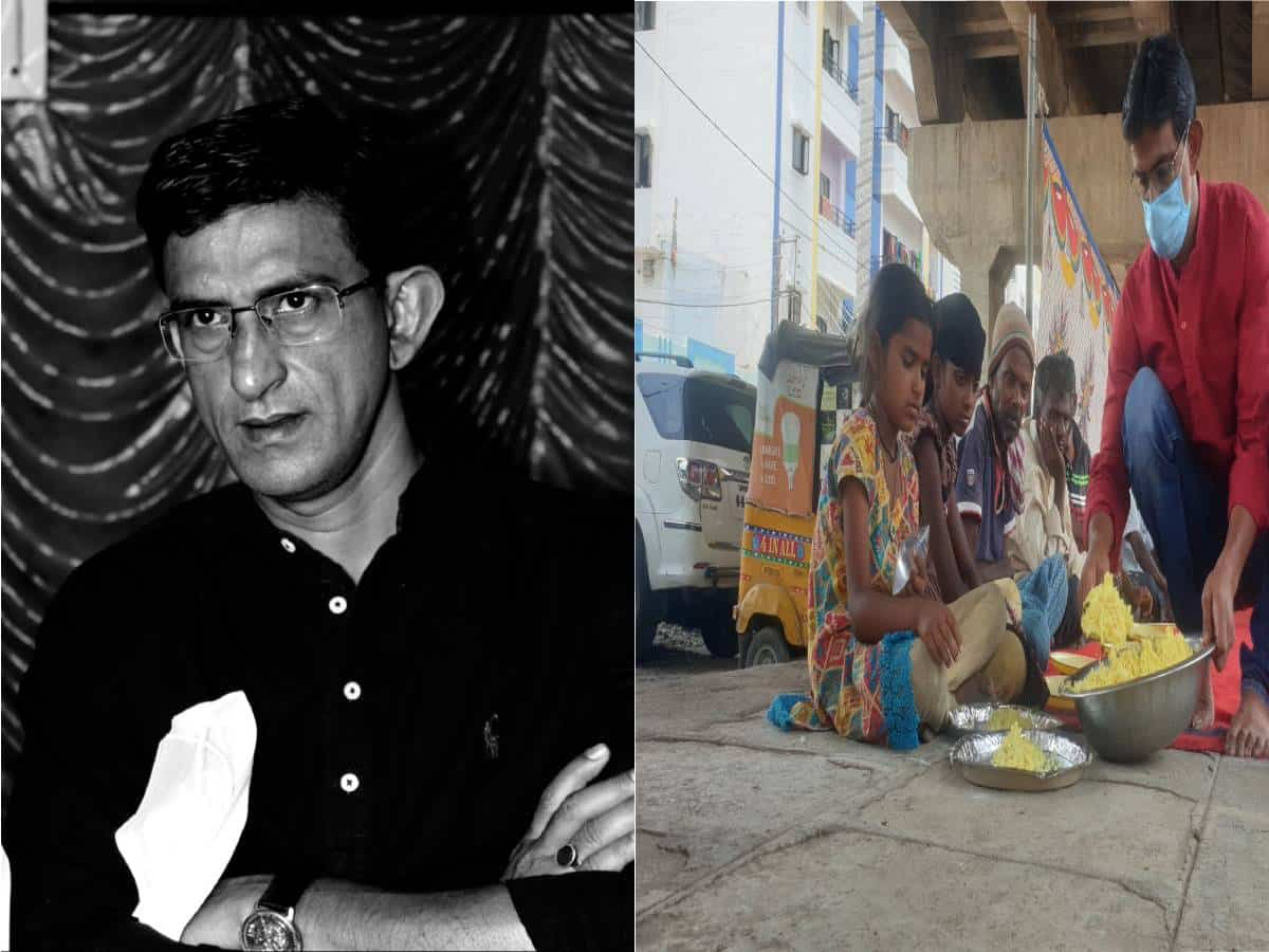Hyderabad: UK govt honors activist Azhar Maqsusi for his service