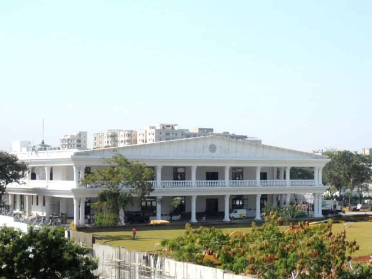 Over 17 lakh property tax remain unpaid for Pragati Bhavan in 3 years