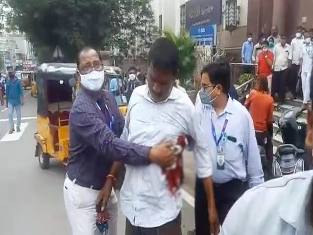 Hyderabad: Bank employee injured as security guard opens fire