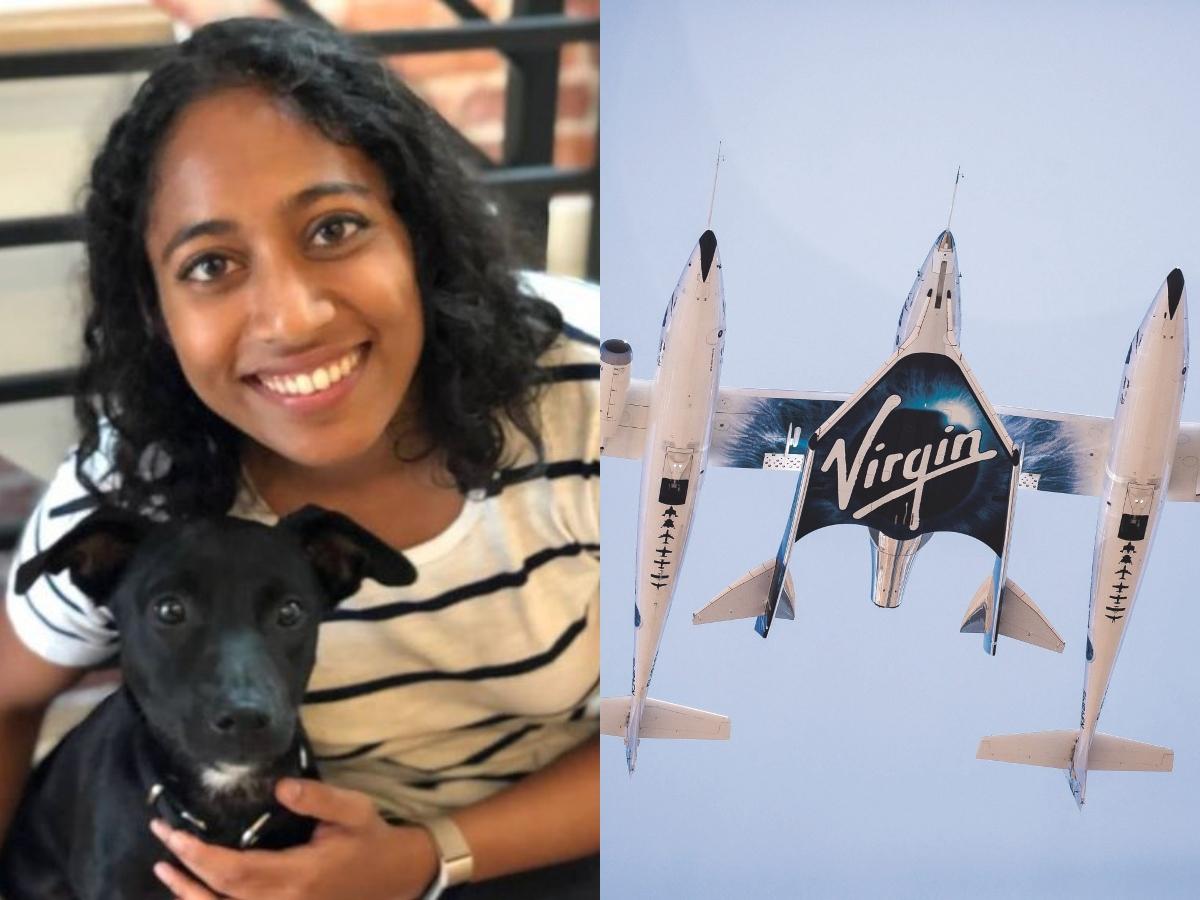 Telugu woman in 6-member crew of Virgin Group's test rocket flight