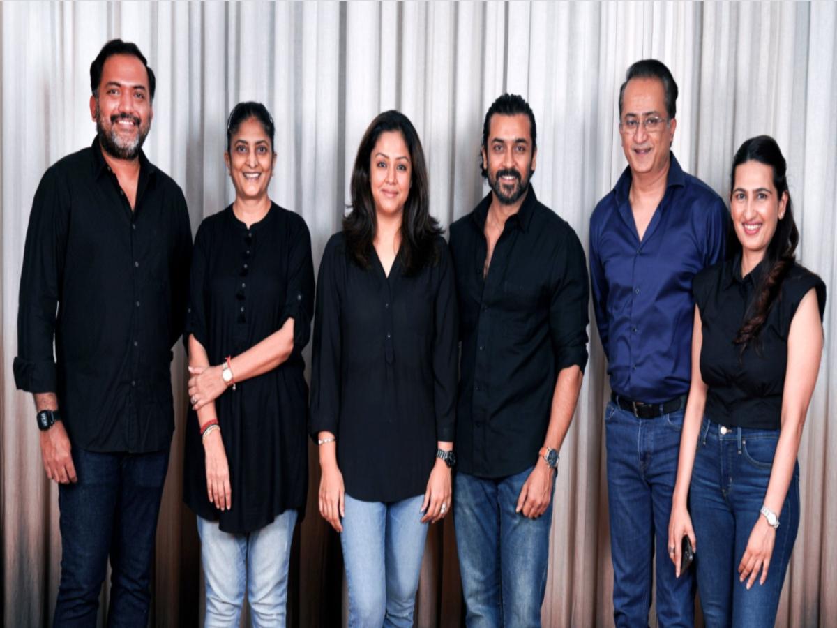 Hindi remake of 'Soorarai Pottru' on cards; details inside
