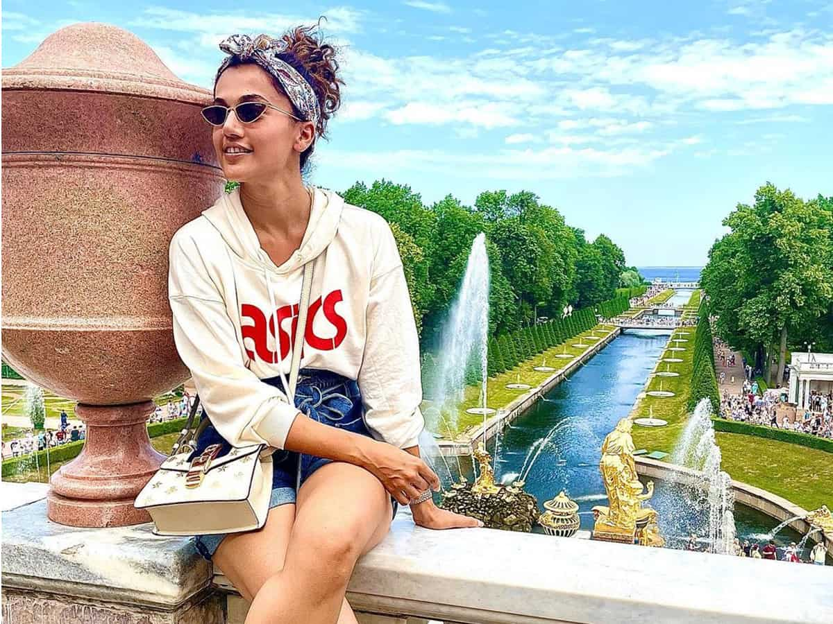 Taapsee Pannu turns producer by launching her production house Outsiders Films