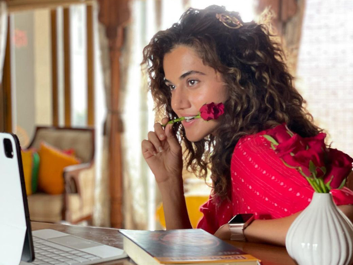 Taapsee calls out critics for giving preference to Hollywood movies over Indian films