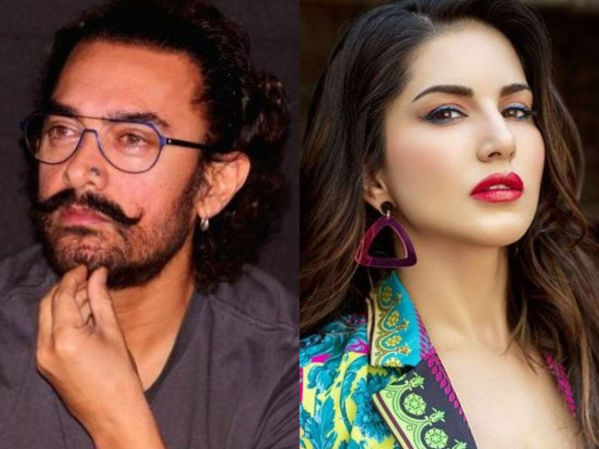 When Aamir Khan expressed his joy to work with Sunny Leone