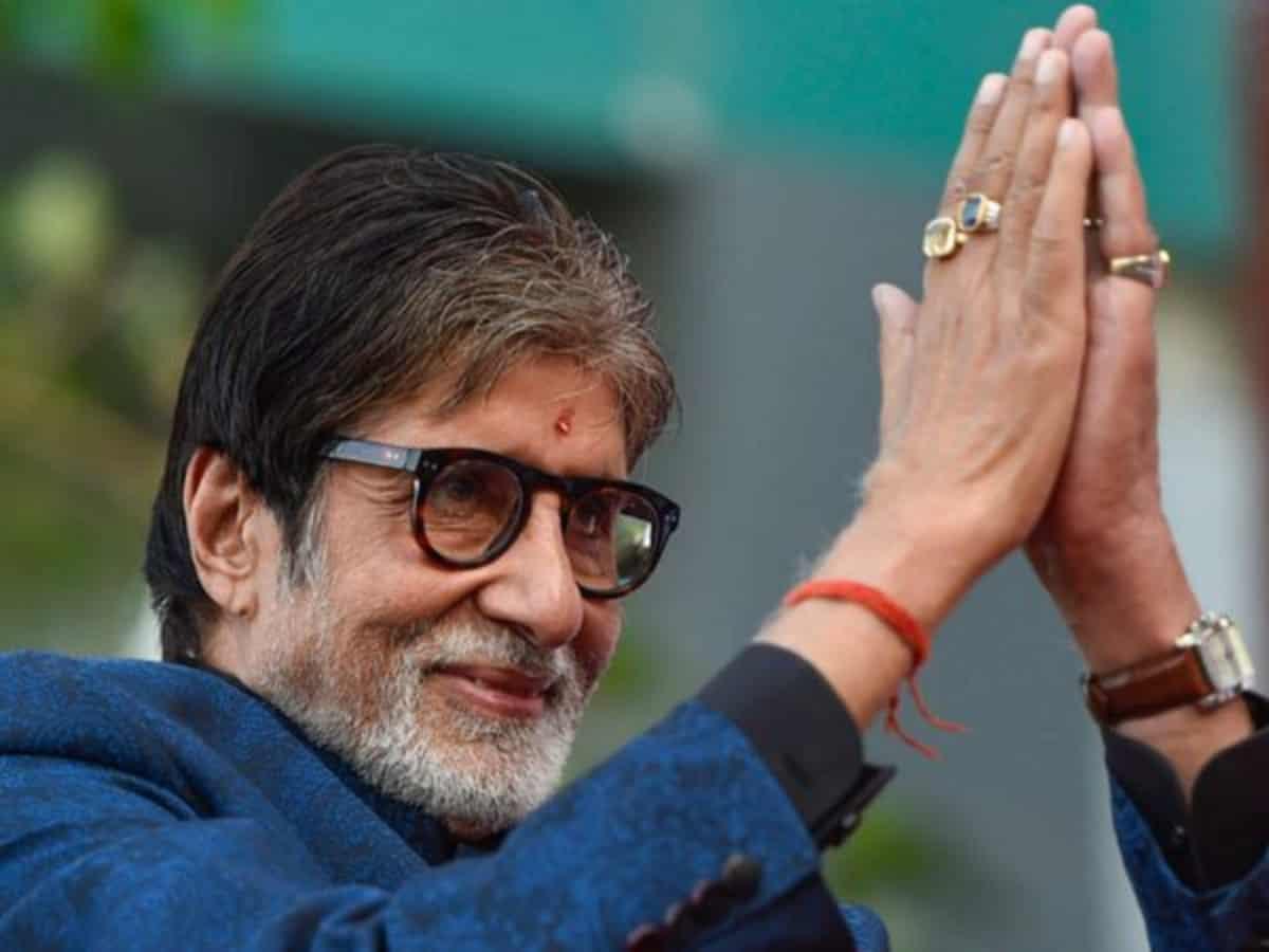 BMC to demolish a part of Amitabh Bachchan's house