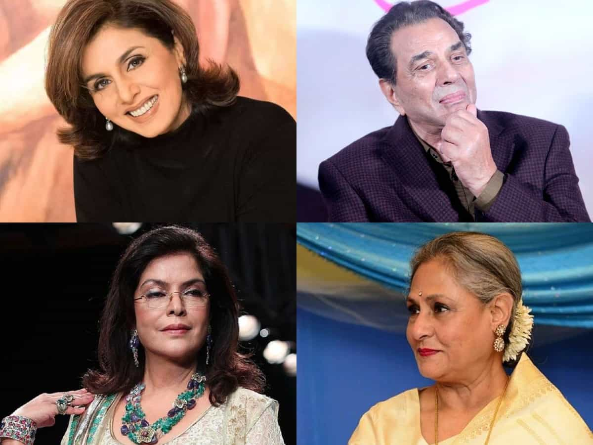 Bollywood veterans on a comeback spree