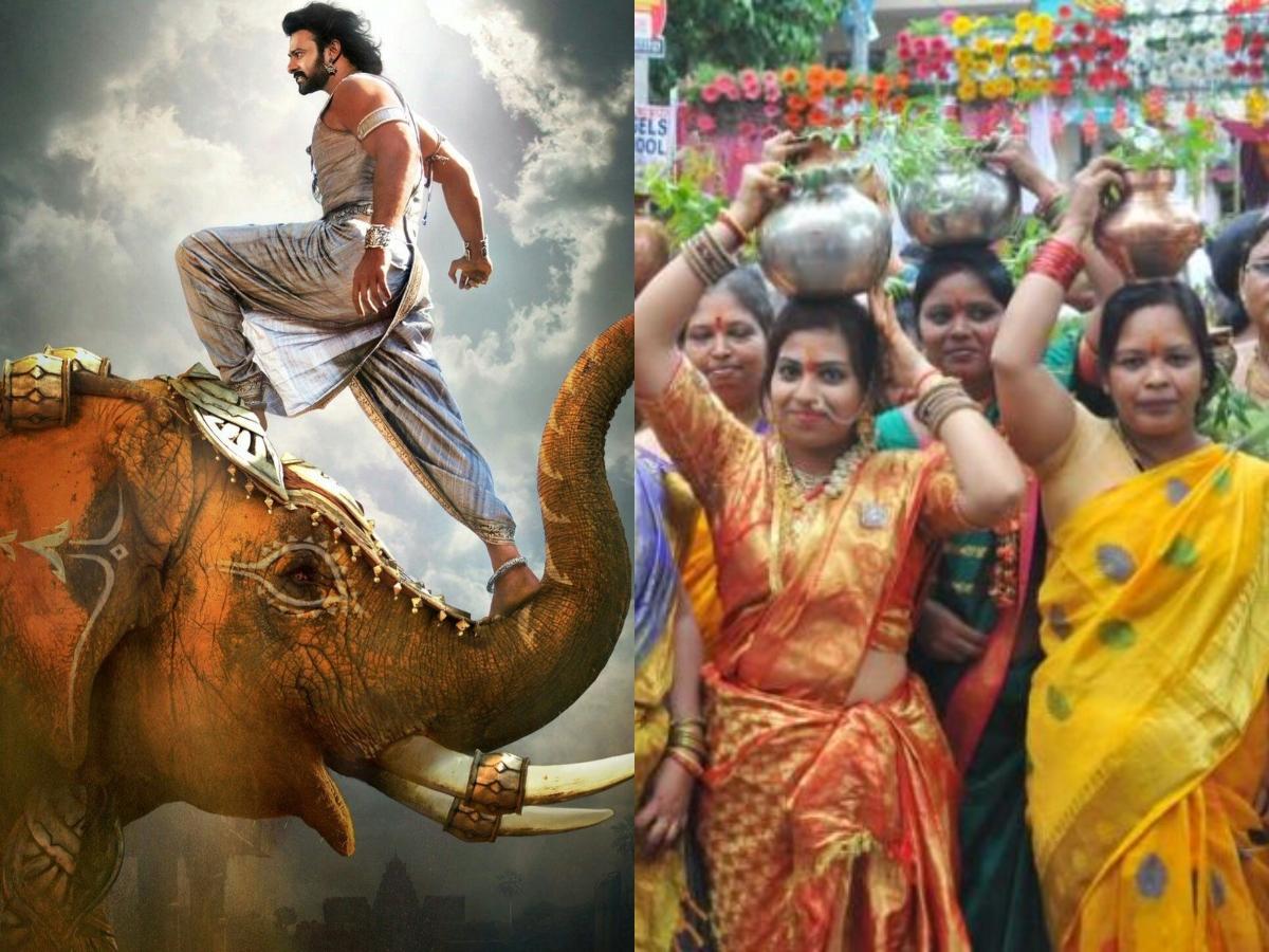 'Baahubali' twist to Bonalu celebrations in Hyderabad