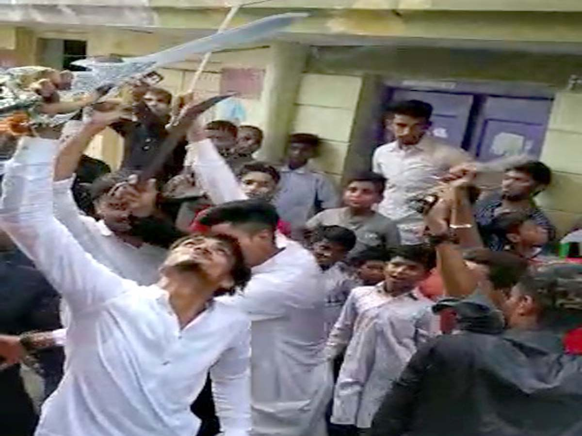 Hyderabad: 8 booked in old city for dancing with swords in baraat