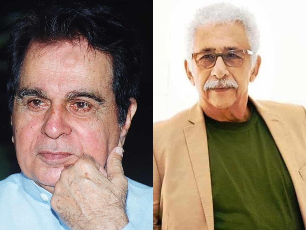 Naseeruddin says Dilip Kumar didn't do enough for cinema, 'chose to play safe'