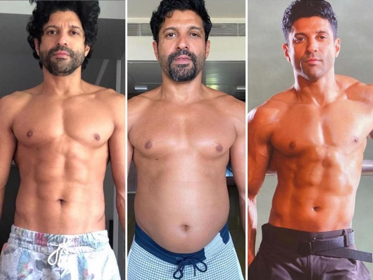 Farhan Akhtar gives a glimpse of his insane transformation in 'Toofaan'