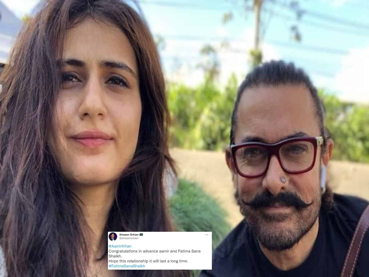 Aamir Khan, Fatima Sana Shaikh's relationship rumours go viral