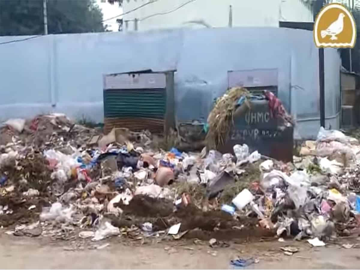Keeping Hyderabad clean, a mere pipe dream
