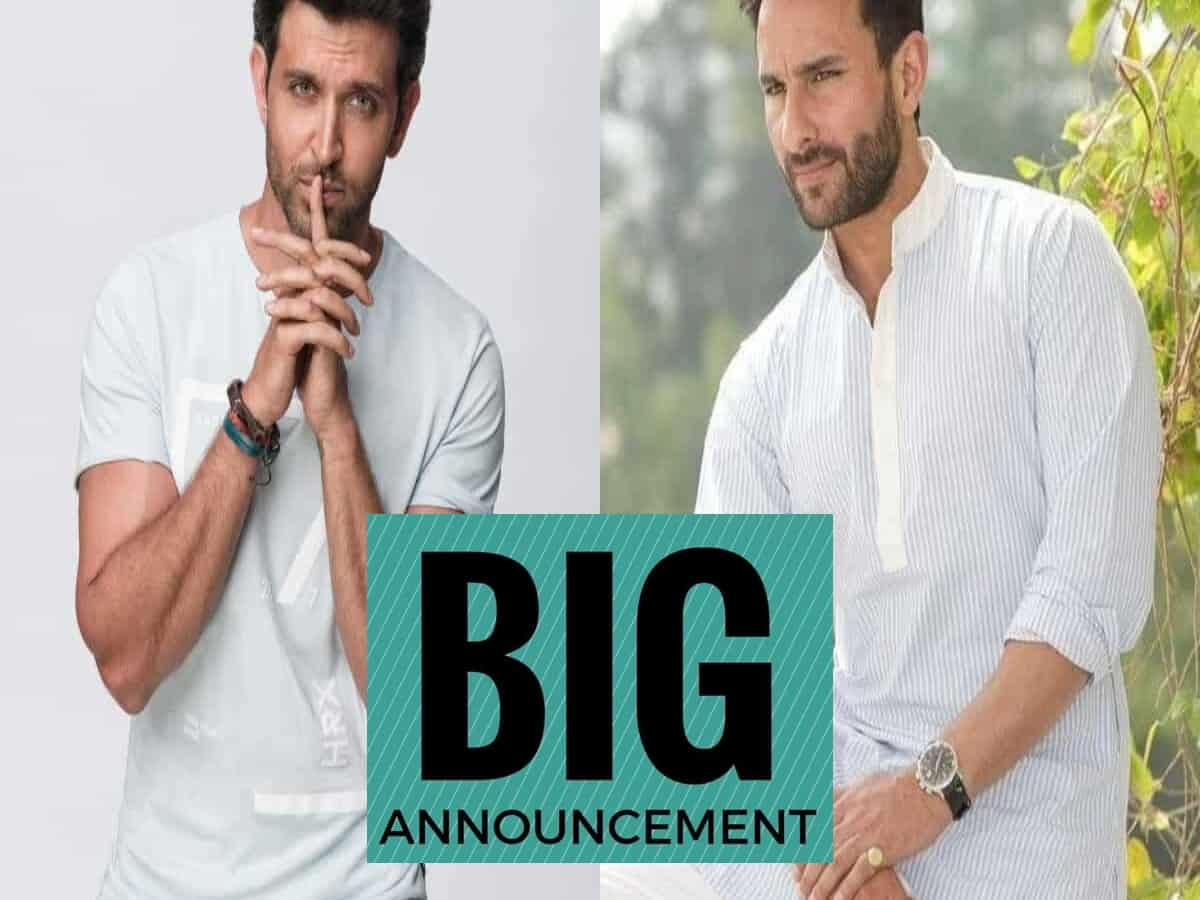 Saif Ali Khan, Hrithik Roshan to share screen for the first time