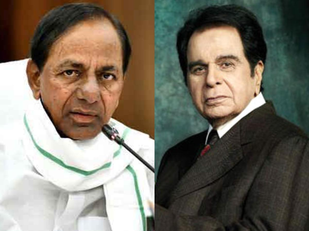 KCR condoles demise of Dilip Kumar