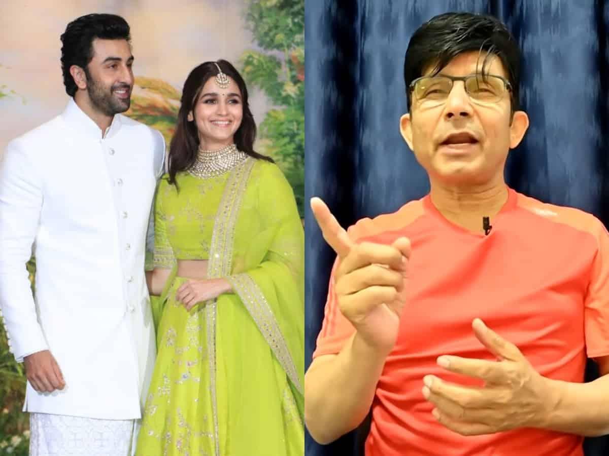 KRK predicts Ranbir Kapoor-Alia Bhatt's marriage, divorce
