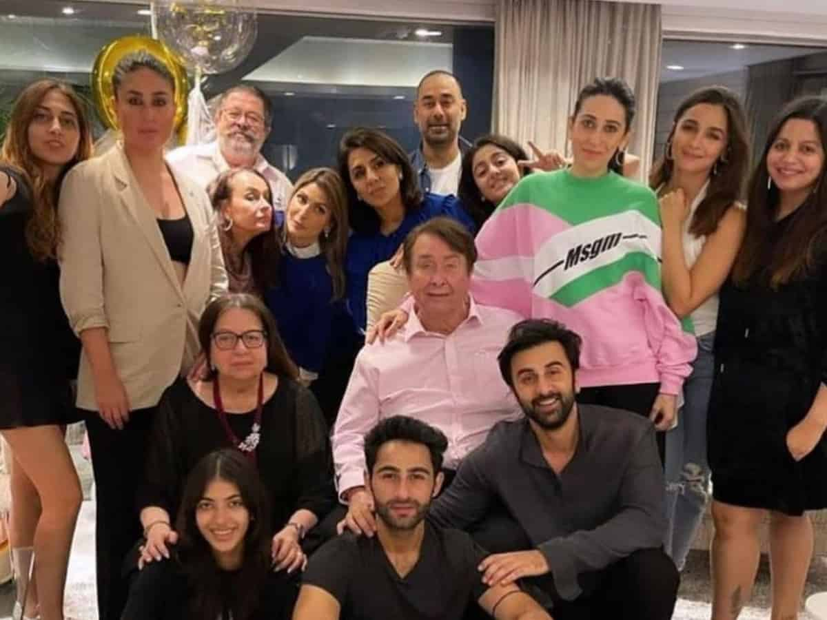 Inside Neetu Kapoor's birthday bash [Photos]
