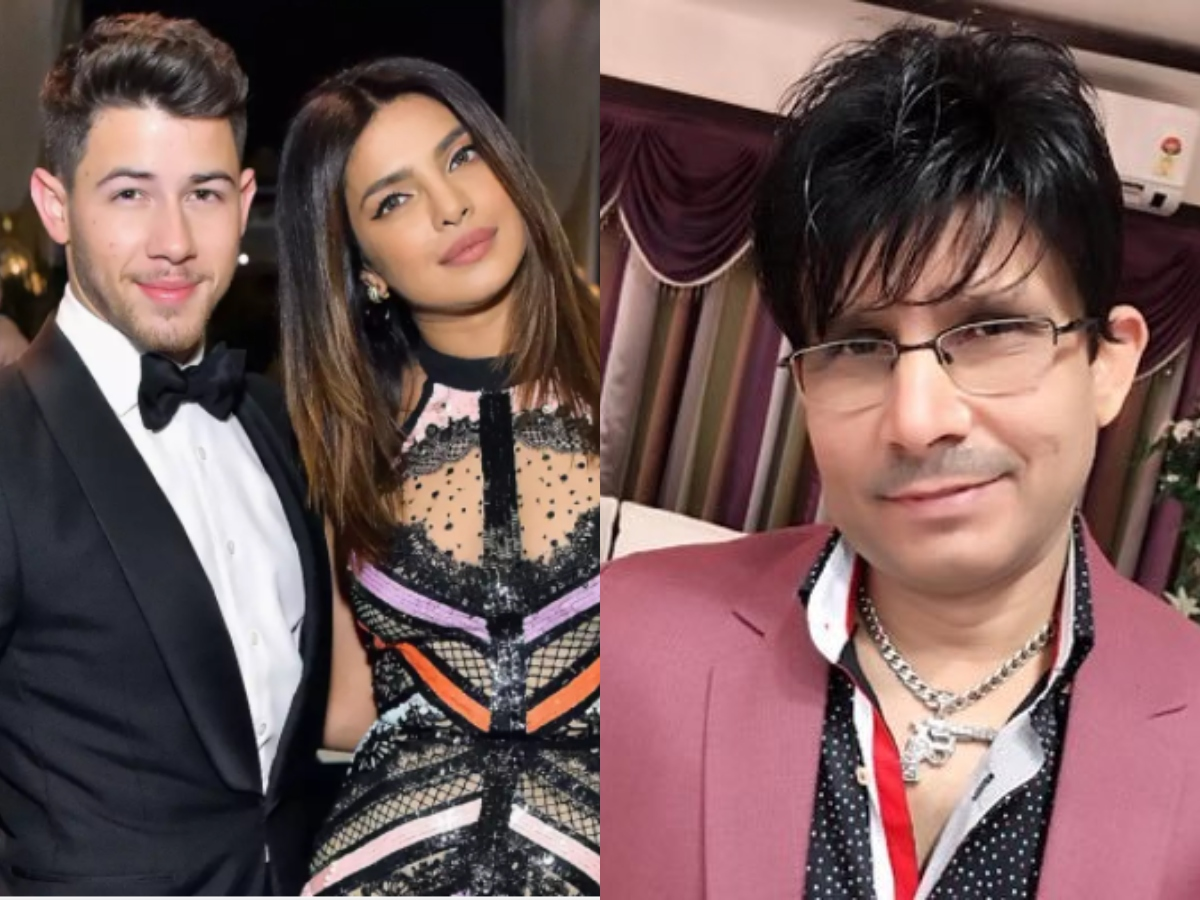 KRK predicts Priyanka Chopra, Nick Jonas's divorce; gets trolled
