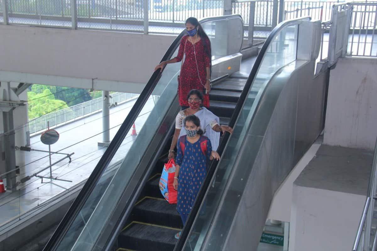 Hyderabad: Metro rail lifts, exits shut on purpose to save cash?