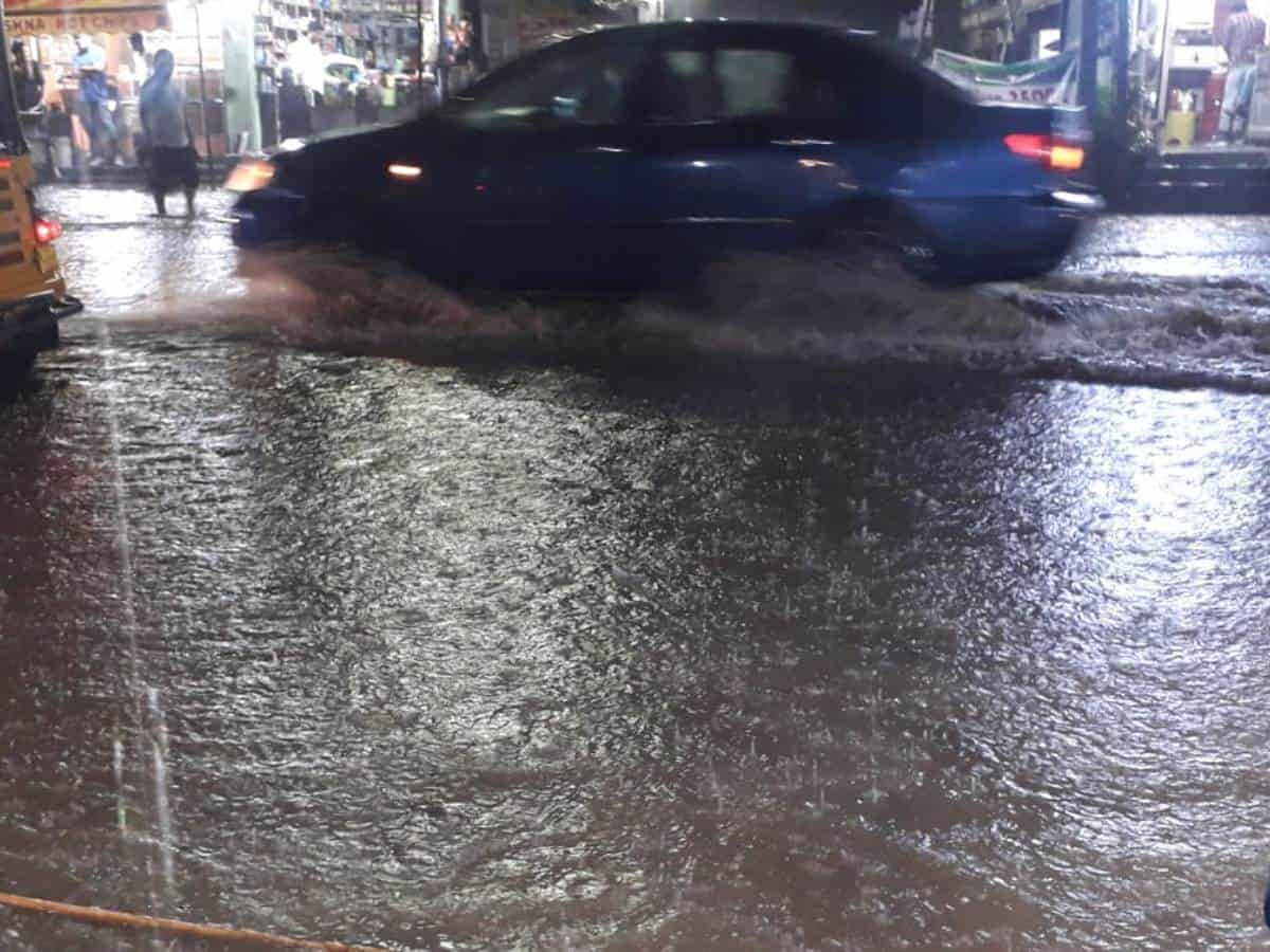 IMD predicts heavy rainfall in Hyderabad on July 17, 18