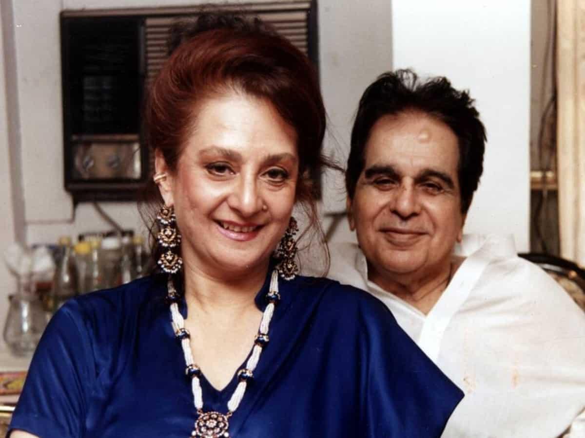 Saira Banu shares Dilip Kumar's health update, requests fans to pray