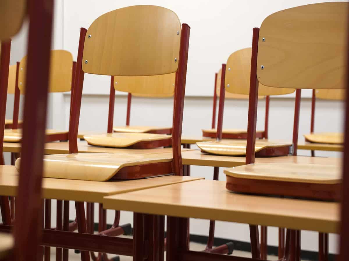 Salaries unpaid from months, say Krishnaveni Talent School teachers