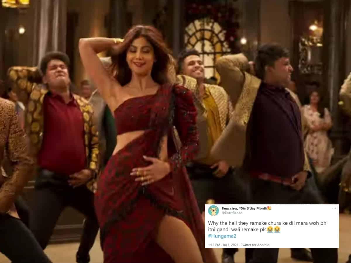 'Chura Ke Dil Mera' recreated in Hungama 2; fans call it 'terrible'