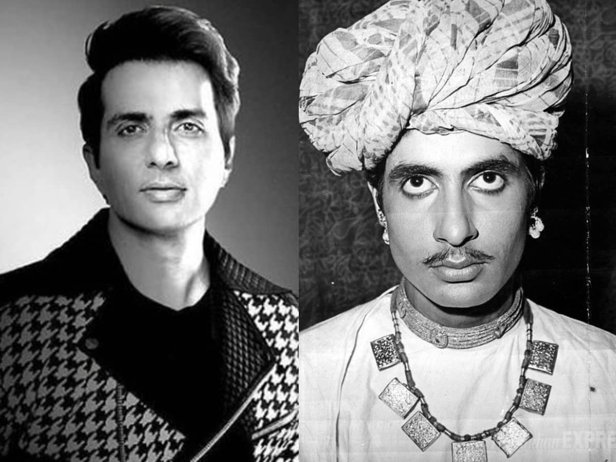 Netizens find stark similarity between Big B and Sonu Sood in this viral pic