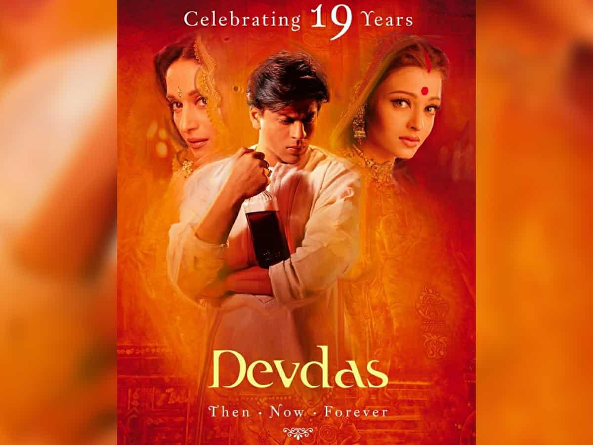 Shah Rukh Khan on 19 years of 'Devdas': Thanks for the love