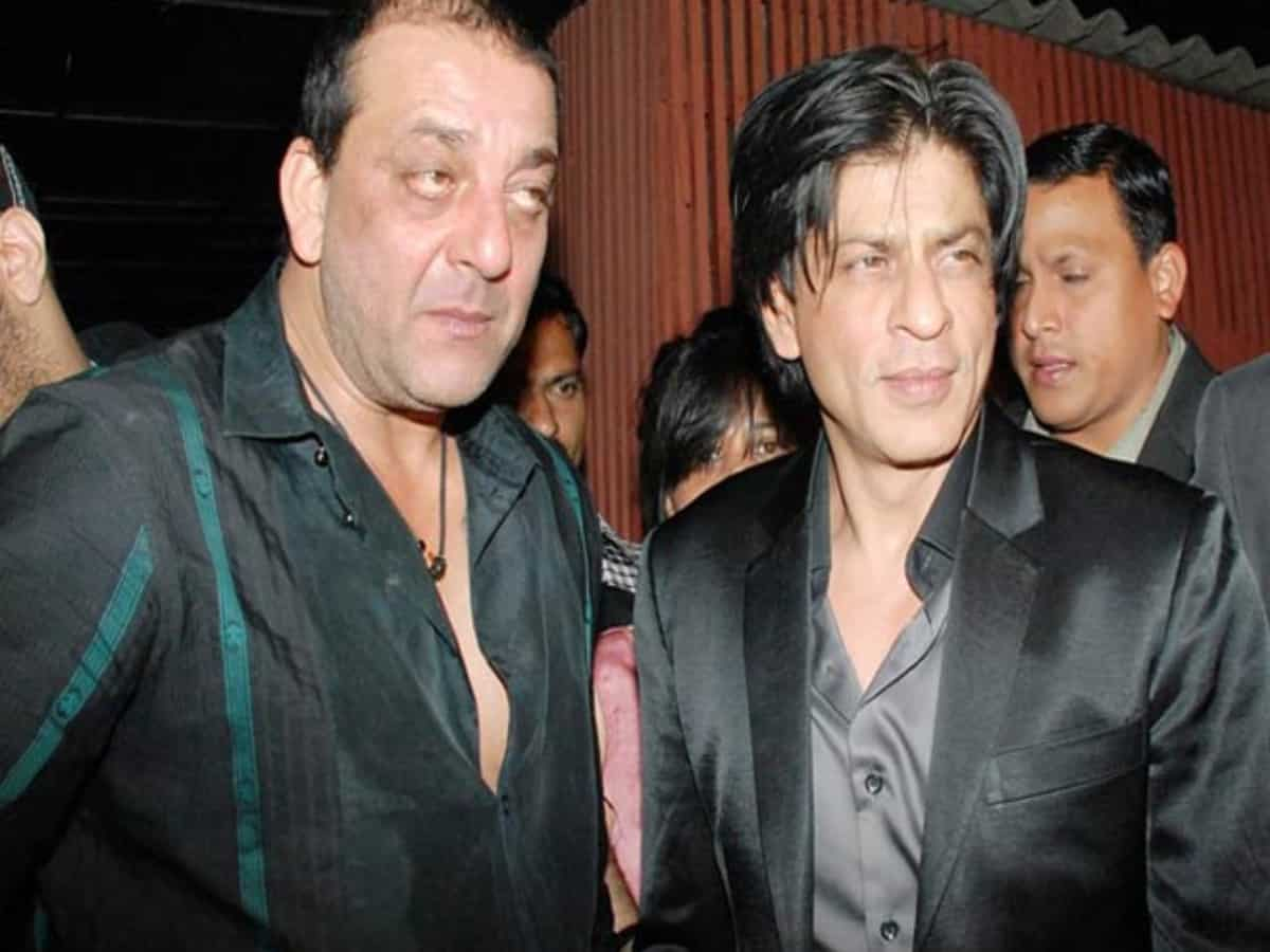 SRK, Sanjay Dutt to appear together in a movie for the first time