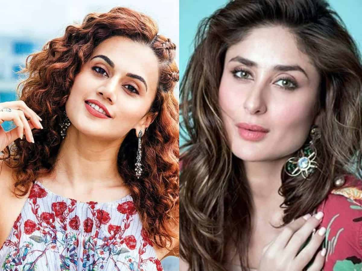 It is sexism: Taapsee on Kareena being trolled for charging 12 crore to play 'Sita'